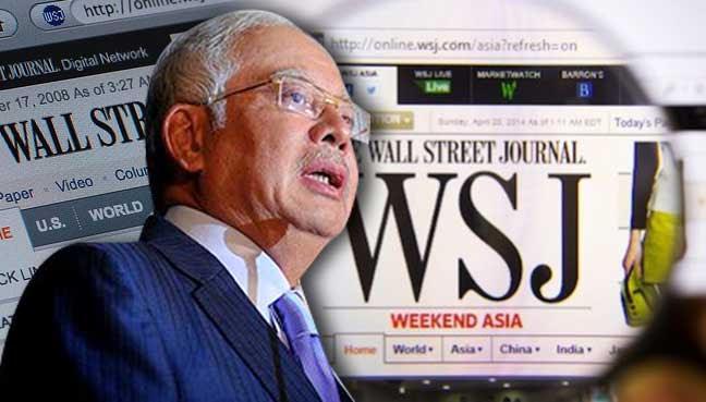 WSJ: Dana RM2.6 bilion bukan daripada Arab Saudi