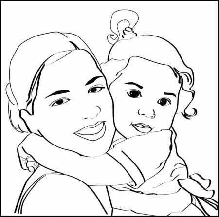 Anneler Gunu Boyamasi 1 Okul öncesi Etkinlik Faliyetleri