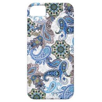 phone case-blue paisley-Blackberry-Samsung iPhone 5 Case