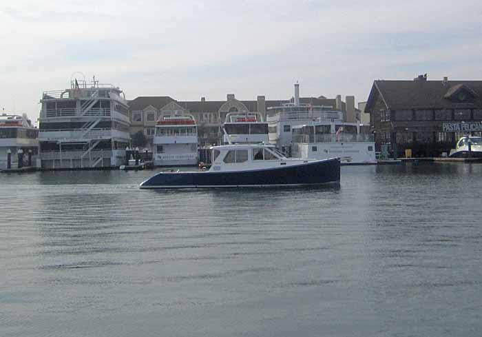 Homecoming Pace Boat