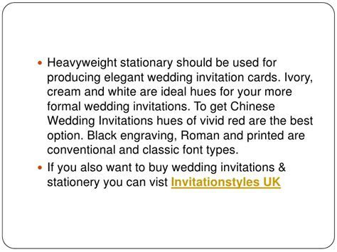 Organizing formal wedding invitation cards