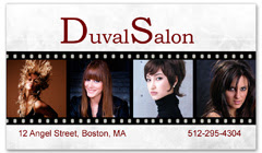 BCS-1105 - salon business card