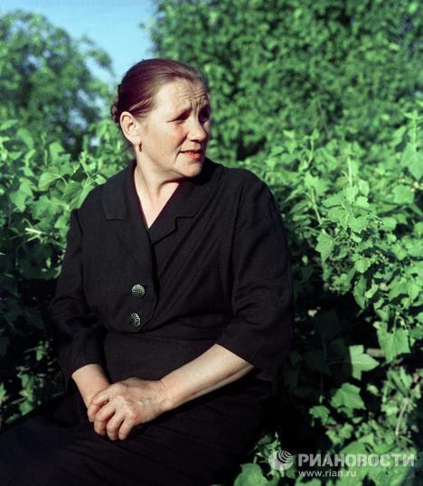 Мать Юрия Гагарина - Анна Тимофеевна Матвеева матери, такие разные