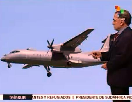 Walter comentó sobre el avión Dash-8 de EEUU que violó espacio aéreo de Venezuela durante cumbre de Mnoal.