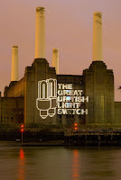 Projection onto Battersea Powerstation by Cool nrg
