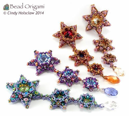 Bead Origami: New Pattern and Kits: O Stars Set