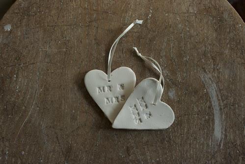 Mr & Mrs by potteryrachel