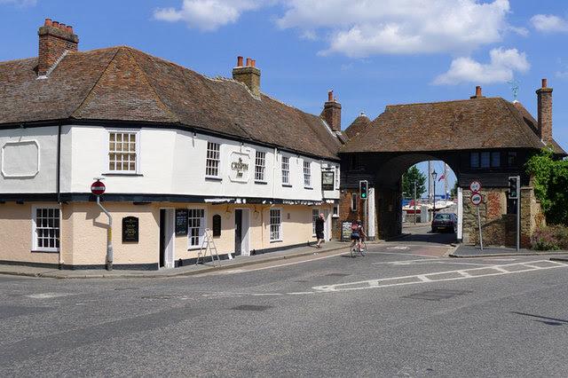 The Crispin Inn Sandwich Kent Cameraman Geograph