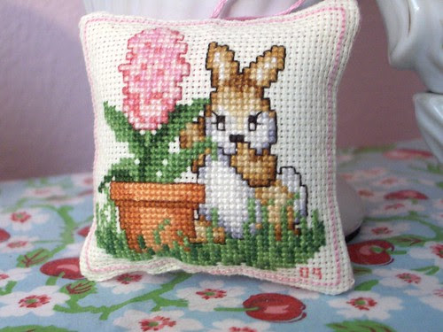 bunny cross stitch