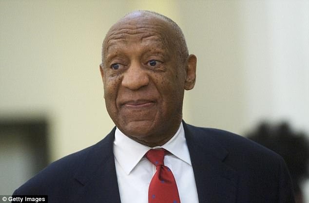 As Cosby walked into the courtroom on Thursday morning, he appeared to have a tight smile on his face