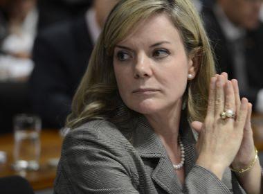 PGR solicita condenação da senadora Gleisi Hoffmann