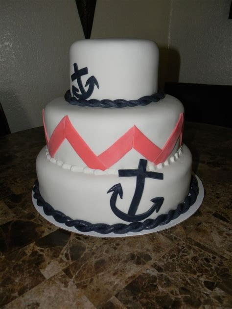 Anchor Cake Cake Ideas and Designs