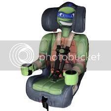TMNT Car Seat