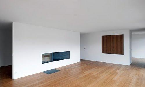 Apartamento minimalista en Suiza - Clavienrossier Architectes