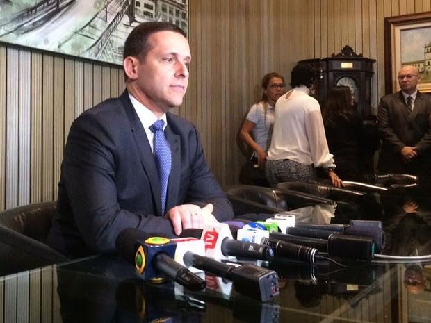 Fernando Capez, presidente da Assembleia Legislativa de São Paulo (Foto: Paula Paiva Paulo/G1)