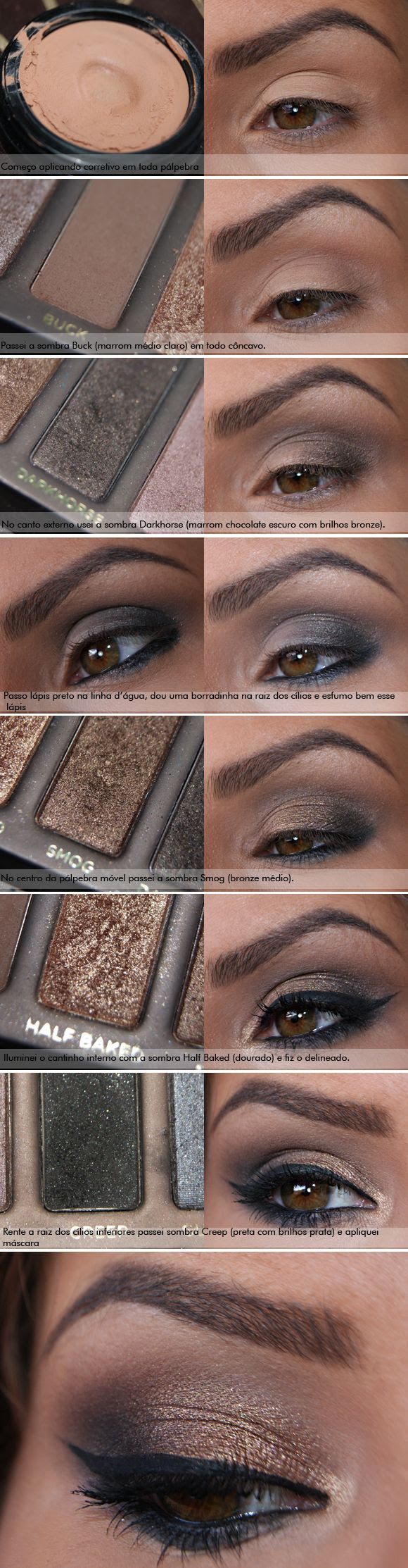 Naked urban decay eye shadow tutorial.  Click the website to see how I lost 21 pounds in one month with free trials