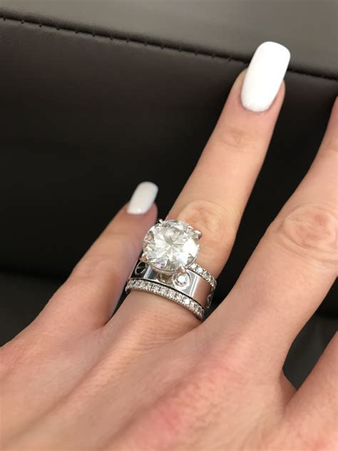Cartier Love ring white gold with 3 diamonds   Rings