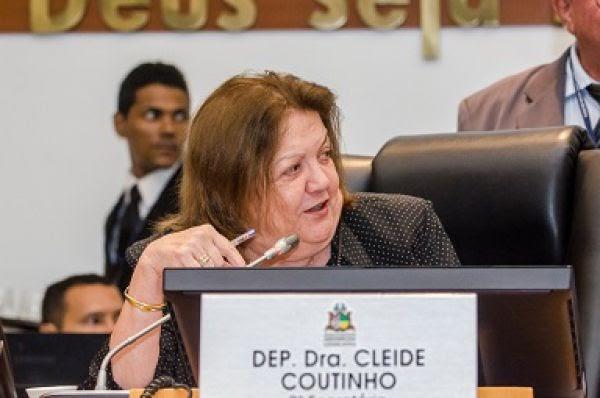 Deputada Cleide Coutinho solicita implantação de unidade do Corpo de Bombeiros em Presidente Dutra