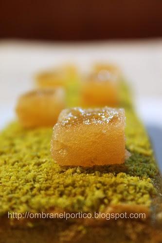Cake pistacchi e cotognata