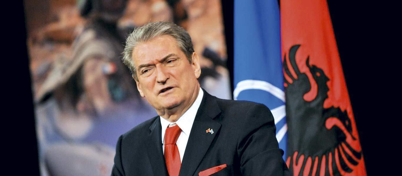 Αποτέλεσμα εικόνας για Ο Σαλί Μπερίσα θέλει την «Μεγάλη Αλβανία» μαζί με Κέρκυρα και όλη την Ήπειρο