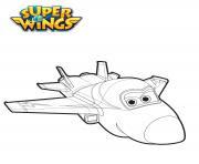 Coloriage Super Wings à Imprimer
