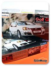 Kit 1/24 Fujimi - Volkswagen Golf GTI V - maqueta de plastico