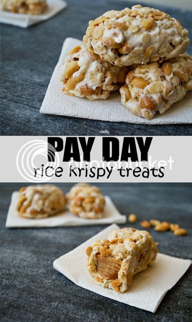 Pay Day Rice Krispy Treats