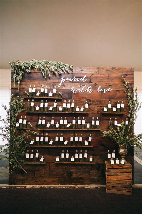 This Elegant Wedding Has An Amazing Escort Card Display