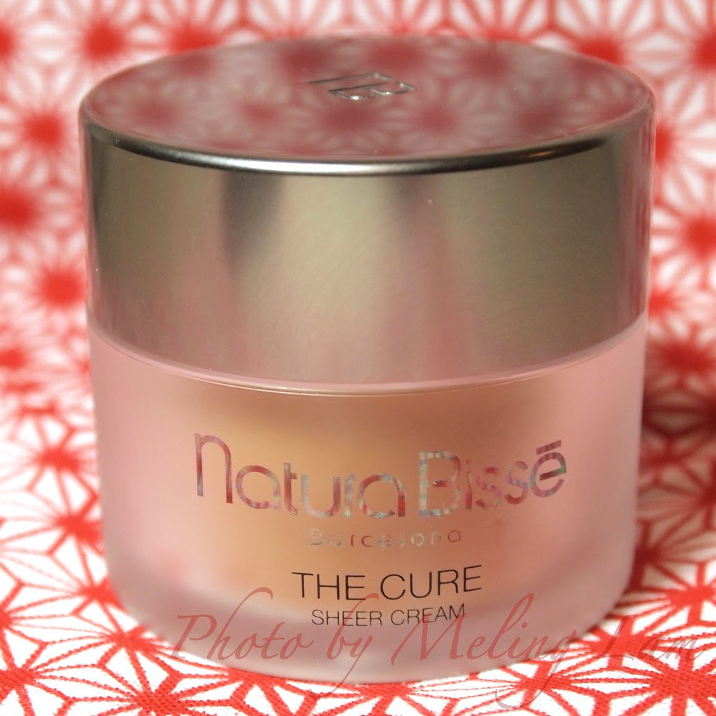 natura bisse the cure sheer cream spf20