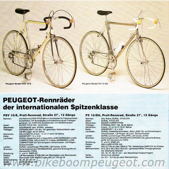 Peugeot PX-10DU 1983 Ger