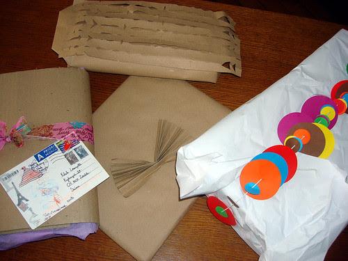 Verpackung Geschenke