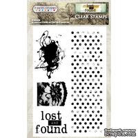 Акриловые штампы от 7 Dots Studio от 7 Dots Studio - Lost and Found - Clear Stamp Set, 10,1x15,2 см - ScrapUA.com