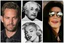 13 celebridades que después de muertas aún siguen facturando millones de dólares, haz click para leer la información completa