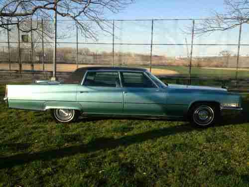Sell used 1969 Cadillac Fleetwood Brougham 60 Special 7.7L ...