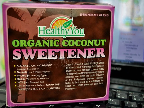 Healthy You Organic Coconut Sweetener