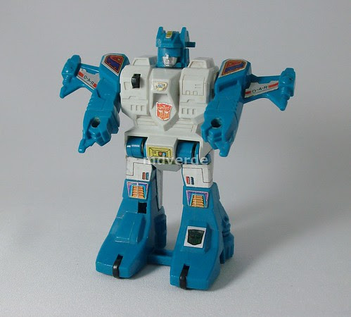 Transformers Topspin G1 - modo robot (by mdverde)