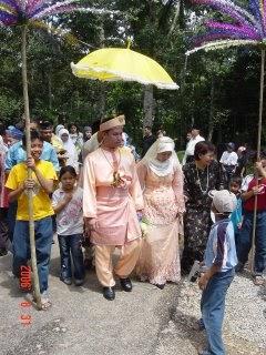 Majlis Kahwin Sepupu kat Kg Payamas Tangkak