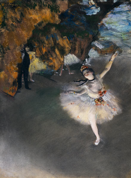 Edgar Degas - The Star, or Dancer on the stage