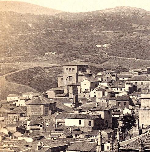 Iglesia de San Torcuato hacia 1860. Fotografía de Robert Peters Napper para Francis Frith