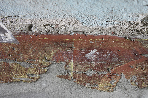 Küchenbodenfragmente