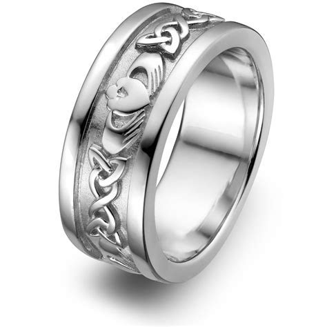 View Full Gallery of Unique Cheap Claddagh Wedding Rings