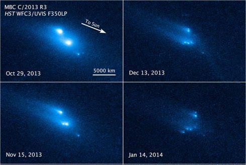 Asteroide P/2013 R3