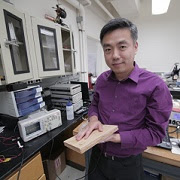 Low-cost wood pulp flooring can now produce power