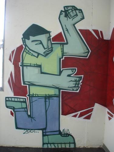Loft Graffiti: Guy