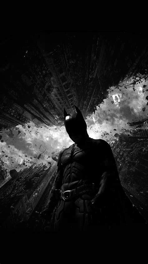aq batman dark bw hero art wallpaper