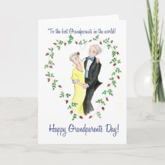 Grandparents Day Greeting Card card