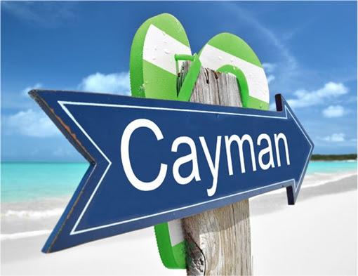 Cayman Islands - Sign Arrow