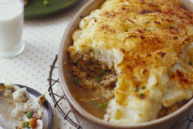 Turkey & Veggie Shepherd's Pie Recipe - Kraft Canada