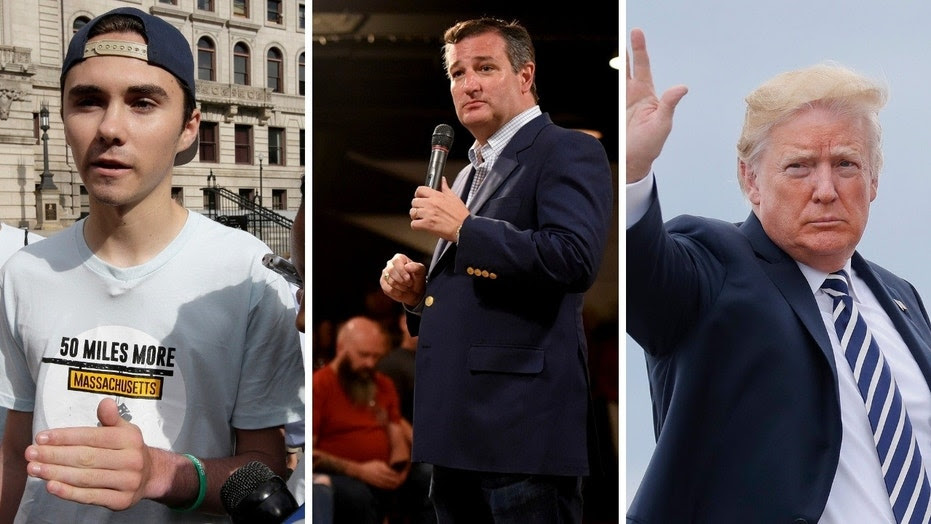 David Hogg and other activists raised money to purchase a mobile billboard that will feature President Trump's tweets scathing tweets about Texas Sen. Ted Cruz.
