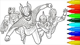 Ultraman Taro Coloring Pages